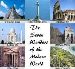 Modern 7 Wonders Of The World » Home Design 2017