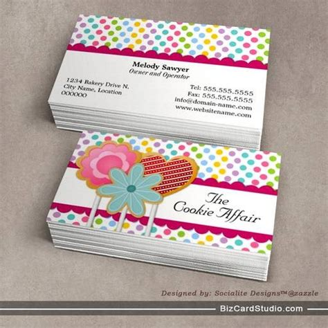 whimsical menu place card template business card templates studio whimsical cookie pops