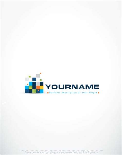 logo design digital exclusive logo template exclusive logo template
