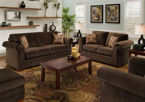 chocolate living room furniture chocolate fabric modern casual living room sofa loveseat set