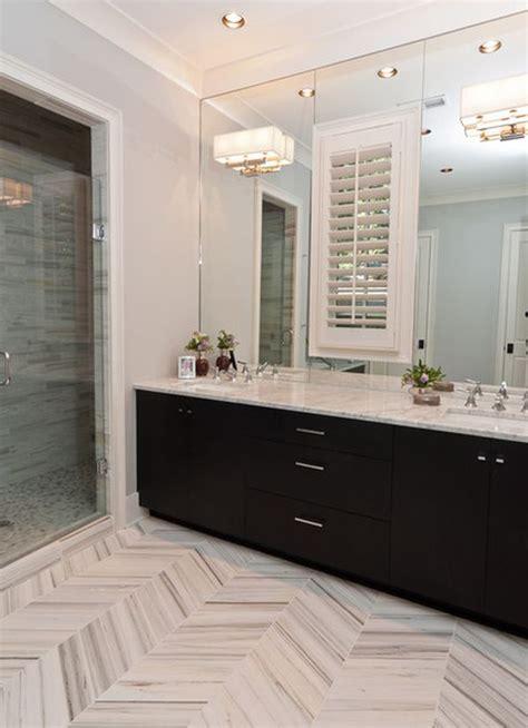 Master Bathroom Ideas Houzz by Get The Chevron Stripe