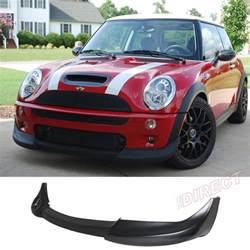Mini Cooper S R53 Accessories 02 06 R50 R52 R53 Mini Cooper Front Bumper Lip Spoiler Ebay