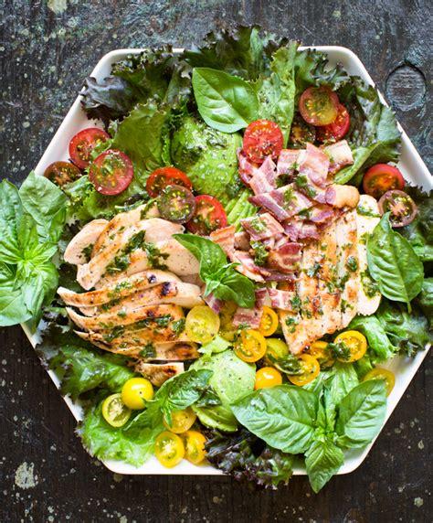 greek salad recipe with grilled lemon chicken culicurious grilled lemon chicken salad with basil dressing kitchen