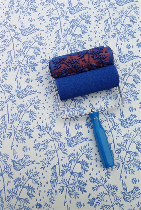 wallpaper paint roller etsy your place to buy and sell all things handmade