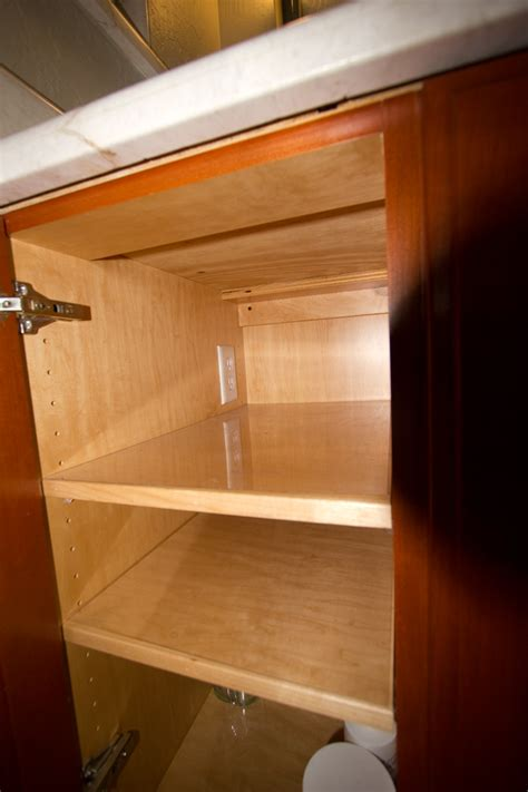 electrical outlets in cabinets