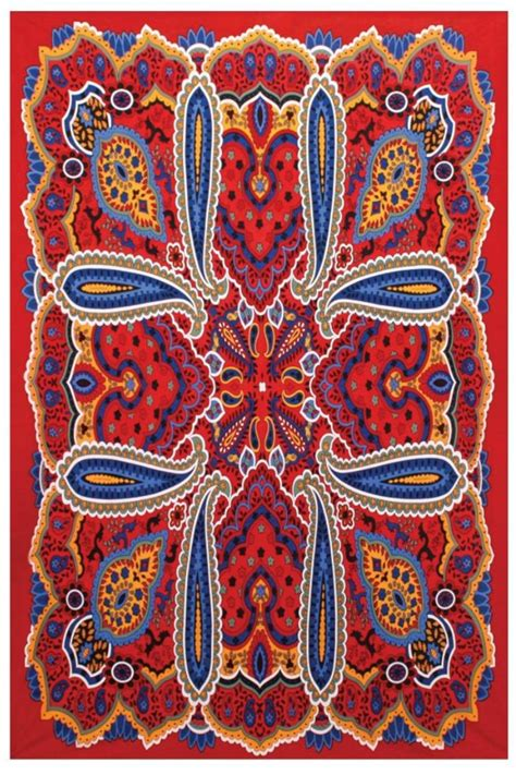 a bit hippy bright paisley tapestry from roanoke shoptiques