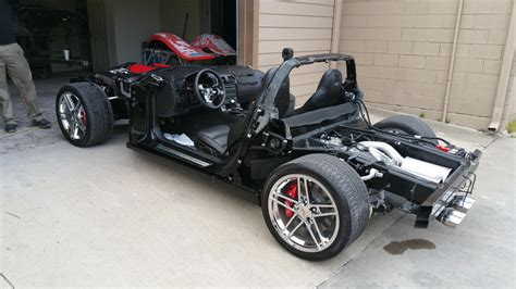 Cadillac On Corvette Chassis by Complete Z06 Driving Chassis For Sale Corvetteforum