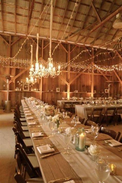 barn wedding table decoration ideas lluminate your big day 72 barn wedding lights ideas