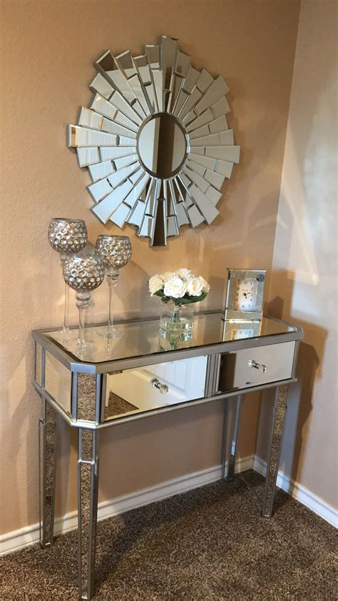 entry table ideas  liven   house  details