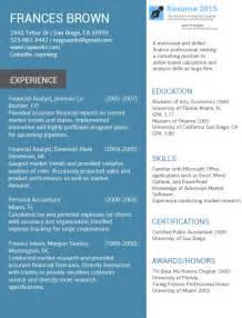 accountant best resume exles 2015 2016 resume 2015