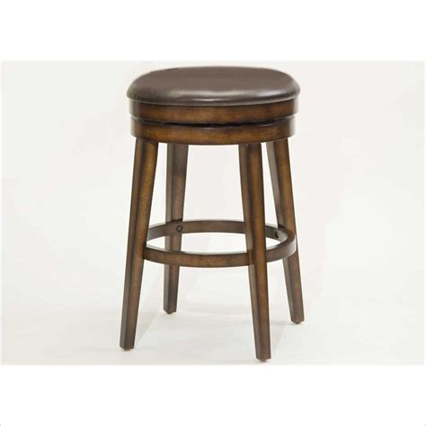 Rustic Backless Counter Stools by Hillsdale Beechland Backless Swivel Counter Stool Rustic