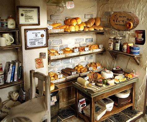 Handmade Shops - the bakery vintage country small bread shop handmade