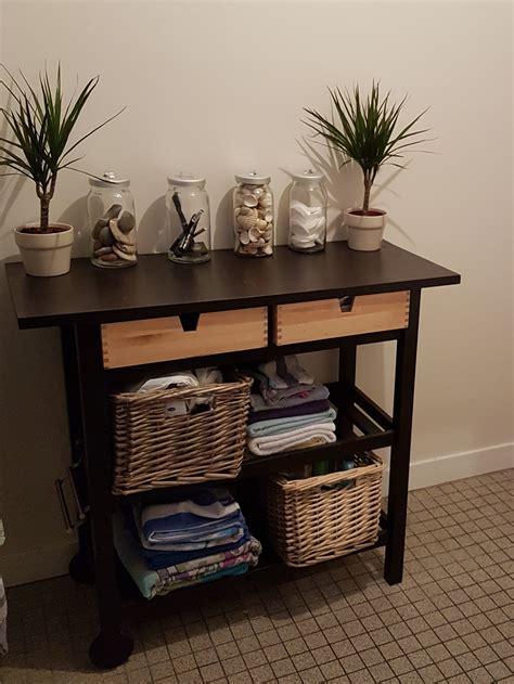 ikea hacks une desserte en meuble de salle de bain blog zodio