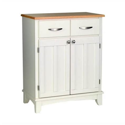home styles furniture wood top buffet white ebay