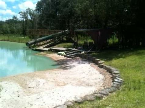how to build a beach in your backyard digging a pond in my backyard 9 of 9 youtube
