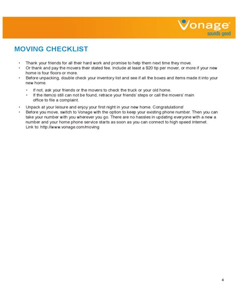 house checklist house moving checklist sle free