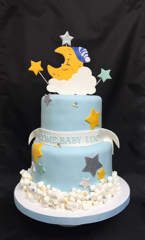Theme Baby Shower Cakes by Twinkle Twinkle Themed Baby Shower Cake Cakecentral