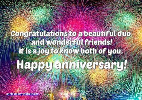 Wedding Anniversary Wishes for Friends   Happy Anniversary