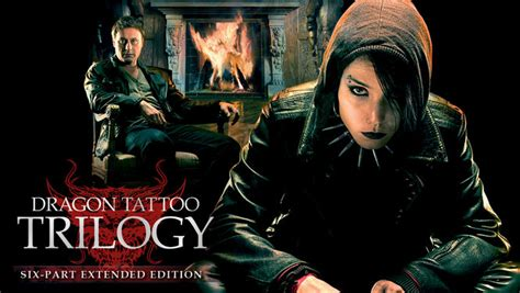 dragon tattoo trilogy dragon tattoo trilogy extended edition