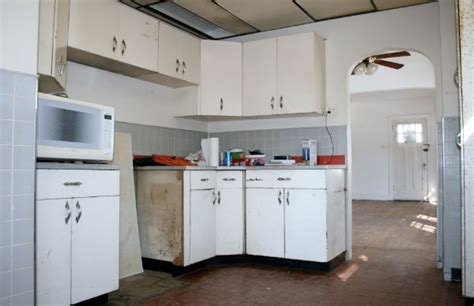 renovate old kitchen cabinets an amazing transformation of an outdated ugly kitchen