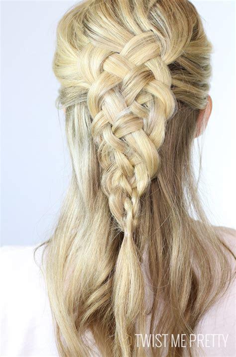 5 strand french braid 5 strand dutch braid day 12 twist me pretty