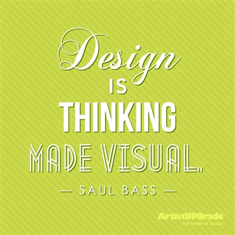 design is thinking made visual saul bass 108 best quotes for designers images on pinterest