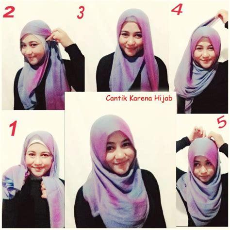 tutorial gambar hijab simple gambar tutorial hijab segi empat tutorial hijab