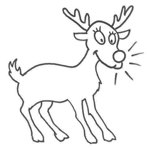 olive the other reindeer coloring page coloring pages