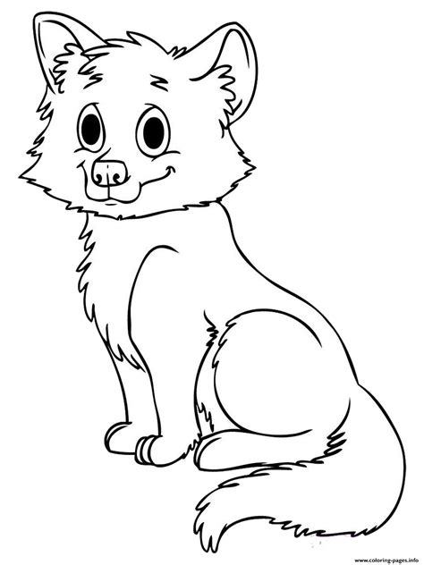Baby Werewolf Coloring Page | cute baby wolf coloring pages free printable