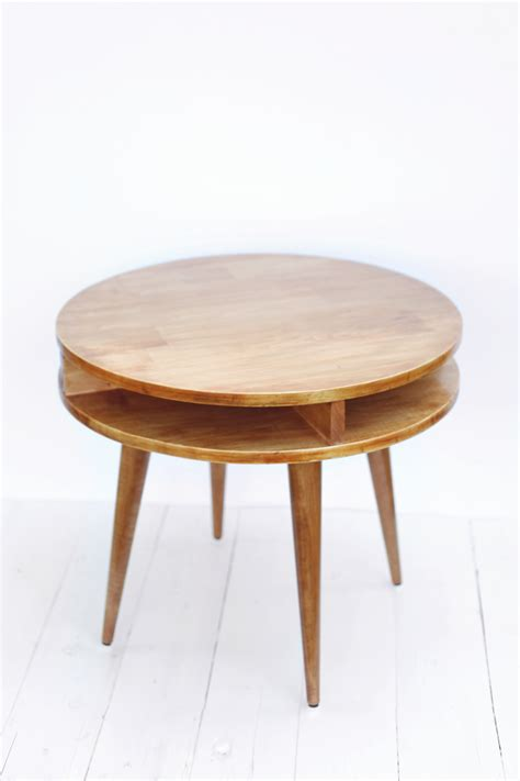 diy mid century table midcentury modern side table diy a beautiful mess