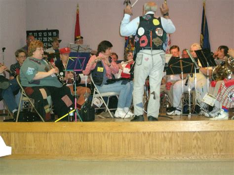 the hobos play a concert the hobos play a concert for the vets