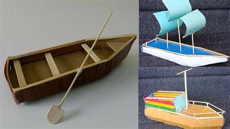 cardboard boat craft 3 beautiful diy cardboard boat toys crafts for kids 7