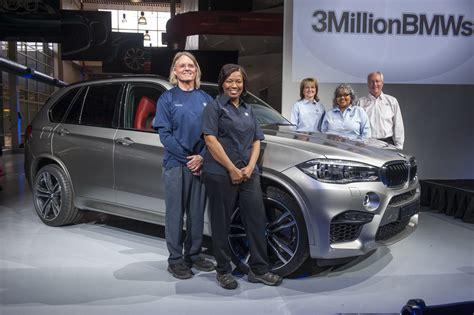 bmw south carolina bmw s south carolina plant built its 3 millionth vehicle