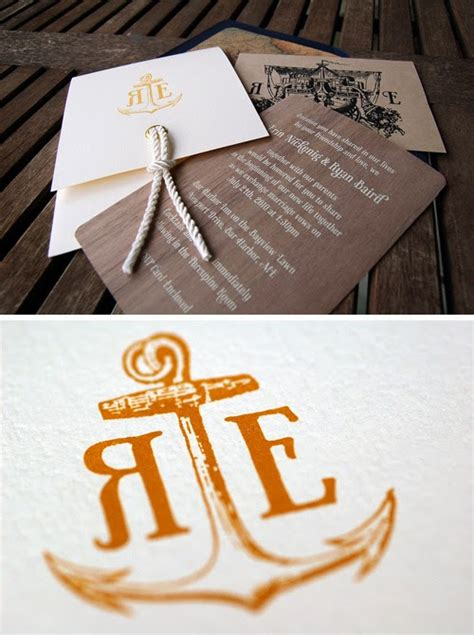 Wedding Invitations Nautical by Memorable Wedding Nautical Wedding Invitations