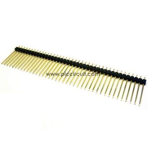 Pin Header 1x40 2 54mm pin header 2 54mm 1x40 way