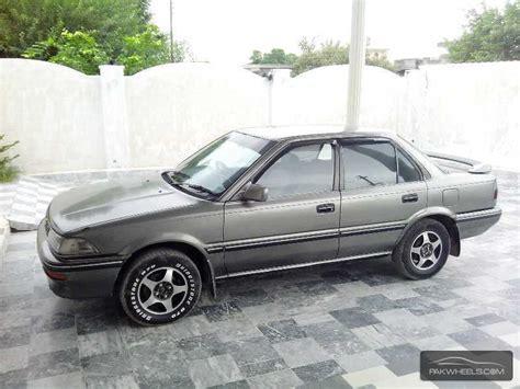 1990 Toyota Corolla For Sale Toyota Corolla Se Saloon 1990 For Sale In Chakwal Pakwheels