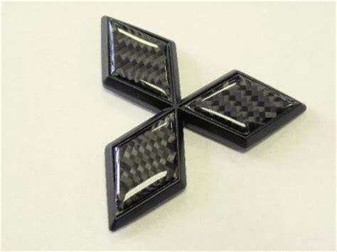 mitsubishi eclipse carbon fiber mitsubishi eclipse gt carbon fiber emblem bk ebay