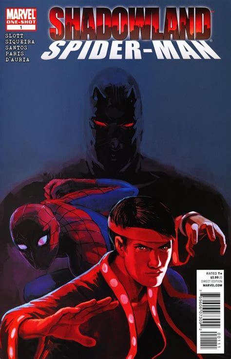 Komik Marvel Shadowland Thunderbolt shadowland spider 1