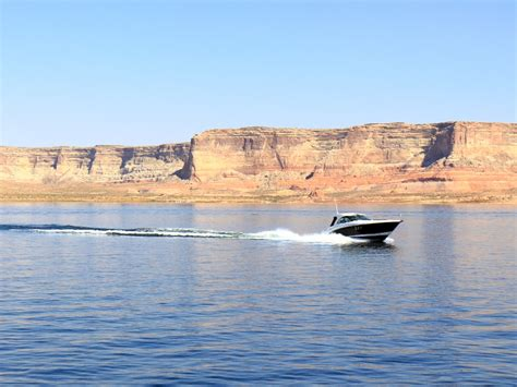 power boat rentals at lake powell lake powell power boat rental full day tracks trails