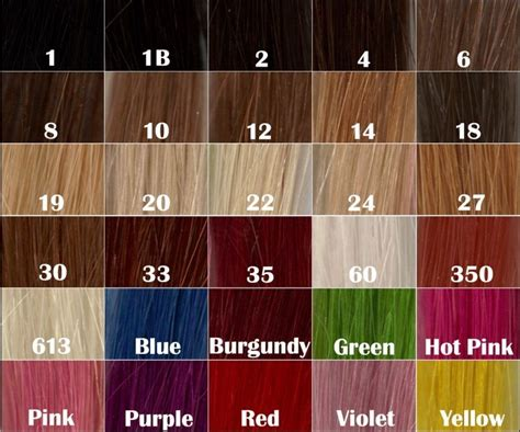 hair expression colour charts 600 strand pre lot u nail tip fusion straight grade aaaa