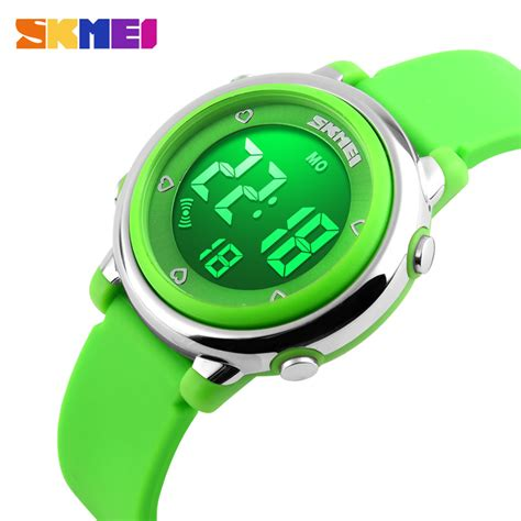 Gratis Ongkir Skmei Children Sport Silicone Led Limited 2016 skmei children led digital sports relojes mujer boys fashion jelly