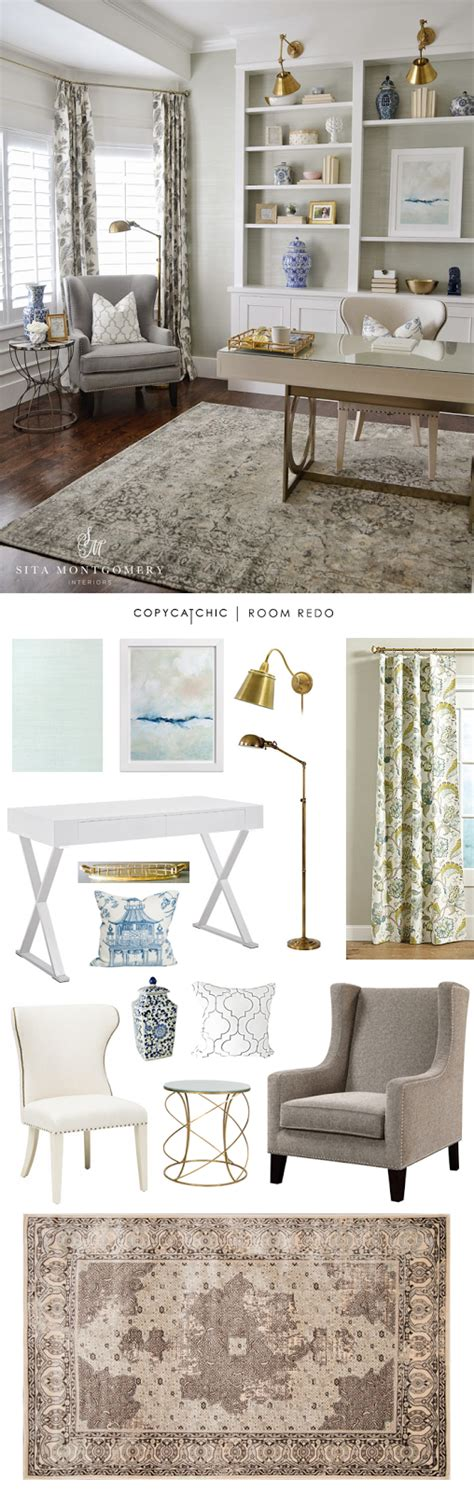 chic and serence in connecticut habitually chic bloglovin copy cat chic room redo serene home office copycatchic