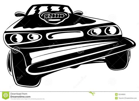 cartoon sports car black and white cartoon black car stock vector image of sedan
