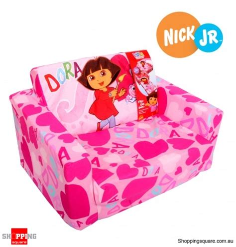 dora the explorer couch dora the explorer flip out sofa bed online shopping