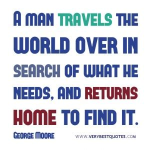 returning home quotes quotesgram