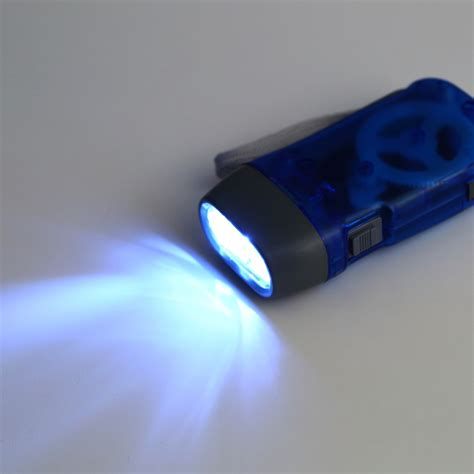 3 Led Dynamo Wind Up Flashlight Nr Torch Light Cing 3 led dynamo wind up flashlight torch light press crank nr cing dp ebay