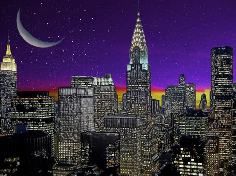 Jessica Digital Landscape New York City Landscape