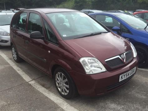 2004 Vauxhall Meriva Photos Informations Articles