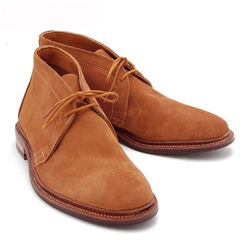 fancy snuff suede chukka boots by alden