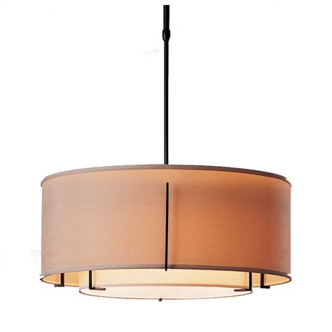 Drum Shade Pendant Light Iron Pendant Light With Drum Shades 139605 10aabb Destination Lighting